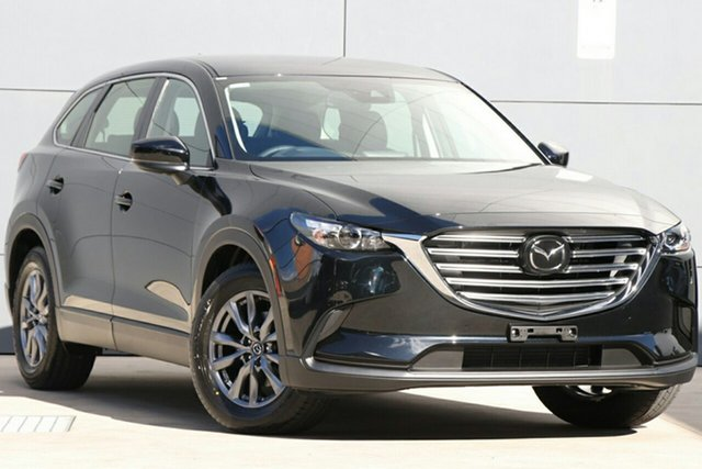 New Mazda CX-9 TC Sport SKYACTIV-Drive, 2020 Mazda CX-9 TC Sport SKYACTIV-Drive Jet Black 6 Speed Sports Automatic Wagon