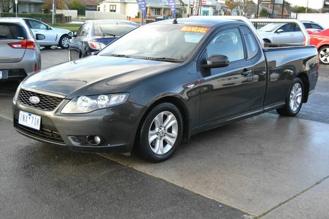 Used Ford Falcon FG R6, 2010 Ford Falcon FG R6 Black 6 Speed Manual Cab Chassis