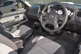 2011 Nissan Navara D22 S5 ST-R Silver 5 Speed Manual Utility