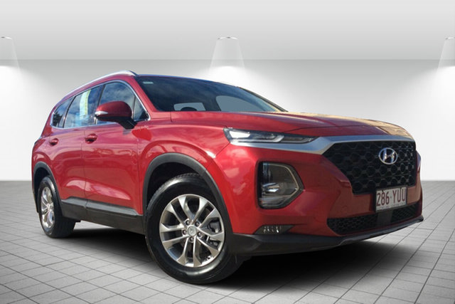 Used Hyundai Santa Fe TM MY19 Active, 2018 Hyundai Santa Fe TM MY19 Active Red 8 Speed Sports Automatic Wagon