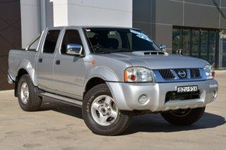 2011 Nissan Navara D22 S5 ST-R Silver 5 Speed Manual Utility.