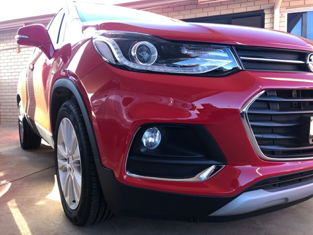 Demo Holden Trax TJ MY19 LTZ, 2018 Holden Trax TJ MY19 LTZ Absolute Red 6 Speed Automatic Wagon