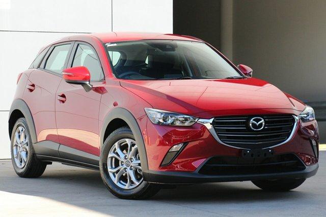 Used Mazda CX-3 DK4W7A Maxx SKYACTIV-Drive i-ACTIV AWD Sport, 2018 Mazda CX-3 DK4W7A Maxx SKYACTIV-Drive i-ACTIV AWD Sport Soul Red 6 Speed Sports Automatic Wagon