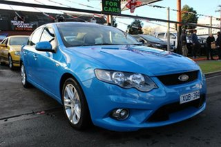 2009 Ford Falcon FG XR6 Blue 6 Speed Auto Seq Sportshift Sedan
