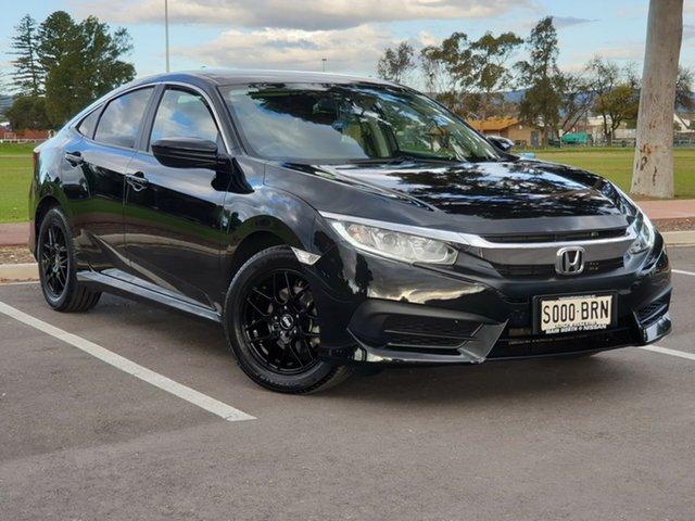 Used Honda Civic 10th Gen MY17 VTi, 2017 Honda Civic 10th Gen MY17 VTi Black 1 Speed Constant Variable Sedan