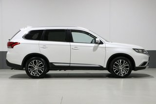 2018 Mitsubishi Outlander ZL MY18.5 LS 7 Seat (AWD) White Continuous Variable Wagon