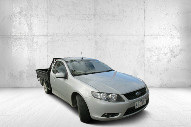 Used Ford Falcon FG R6 Super Cab, 2009 Ford Falcon FG R6 Super Cab Silver 4 Speed Sports Automatic Cab Chassis