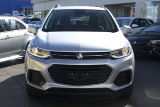 2017 Holden Trax TJ MY18 LS Silver 6 Speed Automatic Wagon.