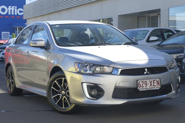 Used Mitsubishi Lancer CF MY17 ES Sport, 2016 Mitsubishi Lancer CF MY17 ES Sport Silver 6 Speed Constant Variable Sedan
