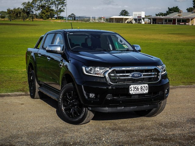 Demo Ford Ranger PX MkIII 2019.00MY XLT Pick-up Double Cab, 2019 Ford Ranger PX MkIII 2019.00MY XLT Pick-up Double Cab Shadow Black 10 Speed Sports Automatic