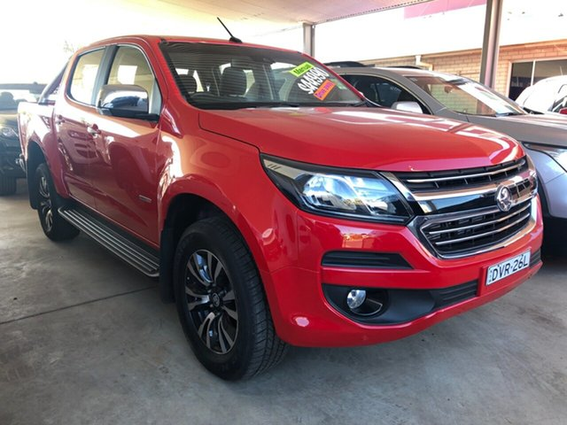 Used Holden Colorado RG MY18 LTZ (4x4), 2017 Holden Colorado RG MY18 LTZ (4x4) Absolute Red 6 Speed Manual Crew Cab Pickup