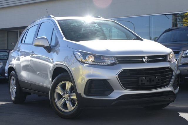 Used Holden Trax TJ MY18 LS, 2017 Holden Trax TJ MY18 LS Silver 6 Speed Automatic Wagon