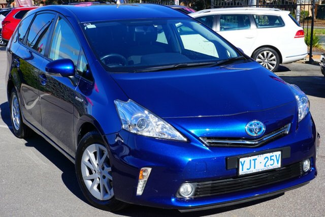 Used Toyota Prius v ZVW40R , 2013 Toyota Prius v ZVW40R Blue 1 Speed Constant Variable Wagon