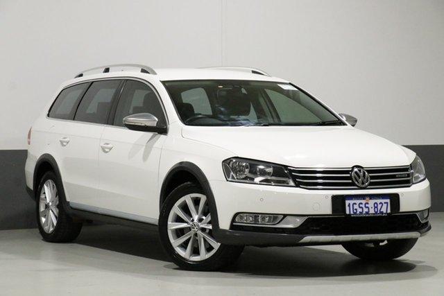 Used Volkswagen Passat 3C MY14.5 Alltrack, 2014 Volkswagen Passat 3C MY14.5 Alltrack White 6 Speed Direct Shift Wagon