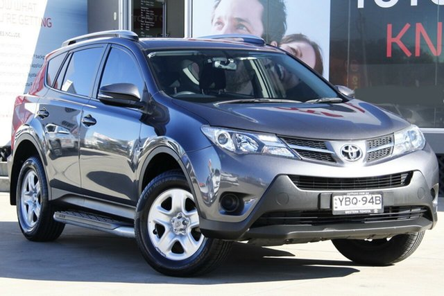Used Toyota RAV4 ZSA42R MY14 GX 2WD, 2014 Toyota RAV4 ZSA42R MY14 GX 2WD Grey 7 Speed Constant Variable Wagon