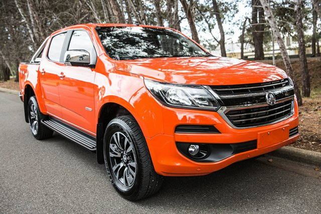 Used Holden Colorado RG MY18 LTZ Pickup Crew Cab, 2018 Holden Colorado RG MY18 LTZ Pickup Crew Cab Orange 6 Speed Sports Automatic Utility