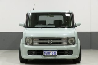 2005 Nissan Cube BZ11 Green 4 Speed Automatic Wagon.
