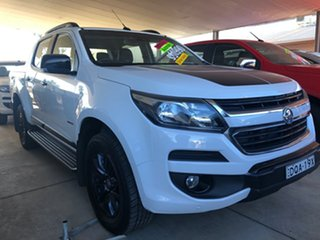2017 Holden Colorado RG MY17 Z71 (4x4) Summit White 6 Speed Automatic Crew Cab Pickup.