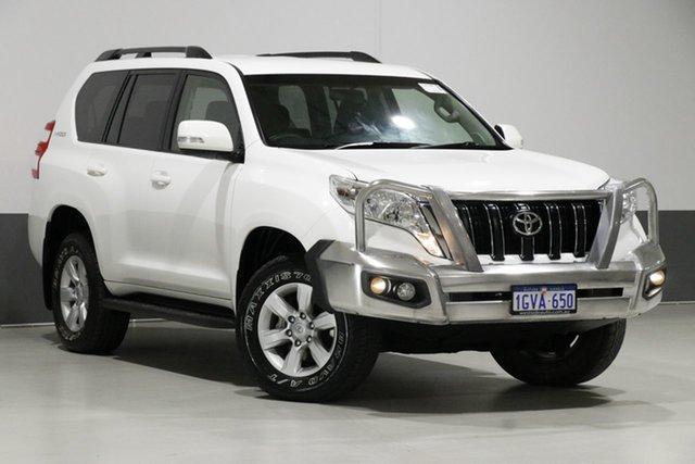 Used Toyota Landcruiser Prado GDJ150R MY16 GXL (4x4), 2017 Toyota Landcruiser Prado GDJ150R MY16 GXL (4x4) White 6 Speed Automatic Wagon