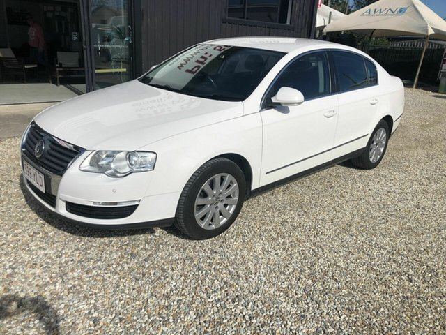 Used Volkswagen Passat MY09 , 2008 Volkswagen Passat MY09 125CDi White 6 Speed Sports Automatic Sedan