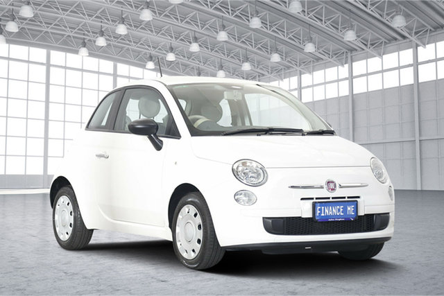 Used Fiat 500 Series 1 POP, 2014 Fiat 500 Series 1 POP White 5 Speed Manual Hatchback
