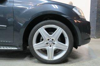 2009 Mercedes-Benz ML350 W164 MY10 AMG Sports Grey 7 Speed Sports Automatic Wagon.