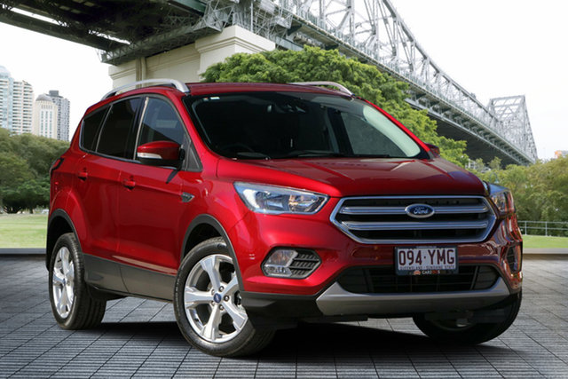 Used Ford Escape ZG 2018.75MY Trend 2WD, 2018 Ford Escape ZG 2018.75MY Trend 2WD Red 6 Speed Sports Automatic Wagon