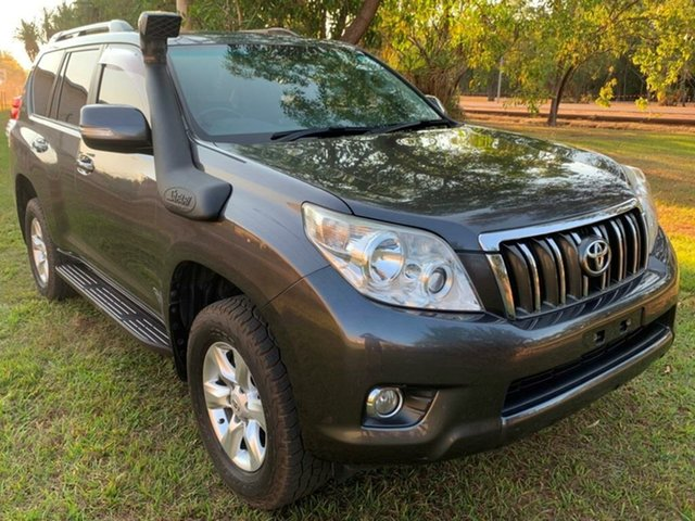 Used Toyota Landcruiser Prado KDJ150R GXL, 2010 Toyota Landcruiser Prado KDJ150R GXL Grey 5 Speed Sports Automatic Wagon