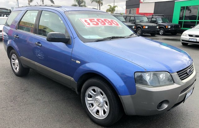 Used Ford Territory  , 2005 Ford Territory 7 SEATER with RWC & REG 4 Speed Sports Automatic Wagon