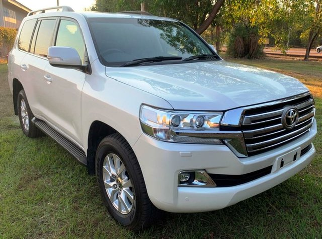 Used Toyota Landcruiser VDJ200R VX, 2016 Toyota Landcruiser VDJ200R VX White 6 Speed Sports Automatic Wagon
