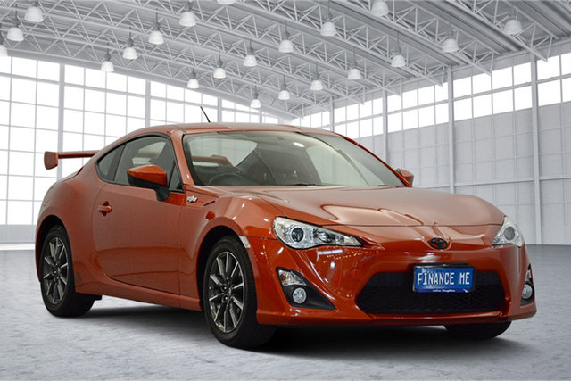Used Toyota 86 ZN6 GT, 2013 Toyota 86 ZN6 GT Velocity Orange 6 Speed Sports Automatic Coupe