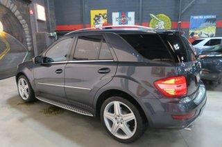 2009 Mercedes-Benz ML350 W164 MY10 AMG Sports Grey 7 Speed Sports Automatic Wagon