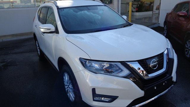 Demo Nissan X-Trail T32 Series II ST-L X-tronic 4WD, 2019 Nissan X-Trail T32 Series II ST-L X-tronic 4WD Ivory Pearl 7 Speed Constant Variable Wagon