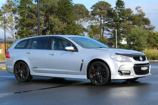 Used Holden Commodore VF II MY16 SS V Sportwagon Redline, 2016 Holden Commodore VF II MY16 SS V Sportwagon Redline Silver 6 Speed Sports Automatic Wagon
