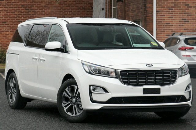 Used Kia Carnival YP PE MY19 SLi, 2018 Kia Carnival YP PE MY19 SLi Snow White Pearl 8 Speed Automatic Wagon