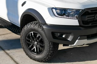 2019 Ford Ranger PX MkIII 2019.00MY Raptor Pick-up Double Cab White 10 Speed Sports Automatic.