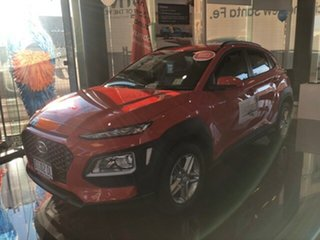2019 Hyundai Kona OS.2 MY19 Active D-CT AWD Tangerine Comet 7 Speed Sports Automatic Dual Clutch.