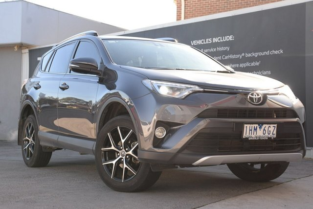 Used Toyota RAV4 ZSA42R GXL 2WD, 2016 Toyota RAV4 ZSA42R GXL 2WD Graphite 7 Speed Constant Variable Wagon