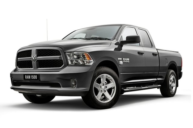 New Ram 1500 MY19 Express (4x4), 2019 Ram 1500 MY19 Express (4x4) Billet Silver 8 Speed Auto Dual Clutch Coach