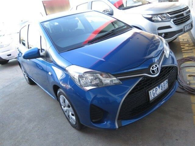 Used Toyota Yaris NCP130R Ascent, 2015 Toyota Yaris NCP130R Ascent 4 Speed Automatic Hatchback