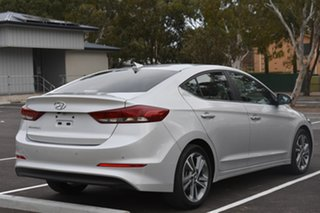 2015 Hyundai Elantra AD MY17 Elite Silver 6 Speed Sports Automatic Sedan.