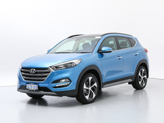2018 Hyundai Tucson TLE2 MY18 Highlander R-Series (AWD) Blue 6 Speed Automatic Wagon.