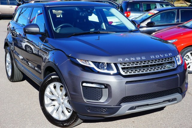 Used Land Rover Range Rover Evoque L538 MY17 TD4 150 SE, 2017 Land Rover Range Rover Evoque L538 MY17 TD4 150 SE Grey 9 Speed Sports Automatic Wagon