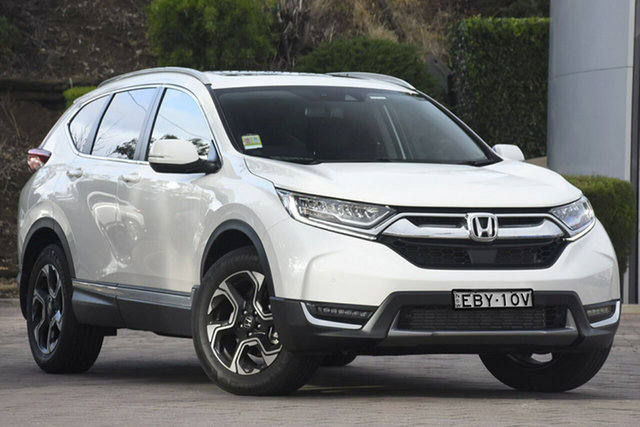 Demo Honda CR-V RW MY19 VTi-LX 4WD, 2019 Honda CR-V RW MY19 VTi-LX 4WD White Orchid 1 Speed Constant Variable SUV