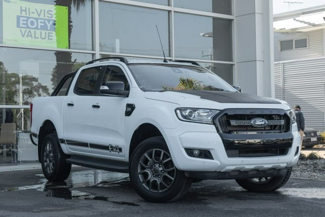 Used Ford Ranger PX MkII 2018.00MY FX4 Double Cab, 2017 Ford Ranger PX MkII 2018.00MY FX4 Double Cab 6 Speed Manual Utility