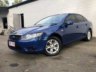 2010 Ford Falcon FG XT Metallic Blue 4 Speed Sports Automatic Sedan.