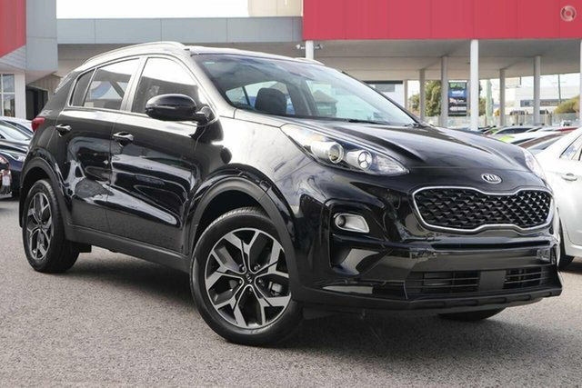 Demo Kia Sportage QL MY19 Si 2WD Premium, 2018 Kia Sportage QL MY19 Si 2WD Premium Black Cherry 6 Speed Sports Automatic Wagon