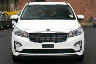 2018 Kia Carnival YP PE MY19 SLi Snow White Pearl 8 Speed Automatic Wagon
