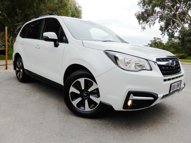 Used Subaru Forester S4 MY16 2.0D-L CVT AWD, 2016 Subaru Forester S4 MY16 2.0D-L CVT AWD White 7 Speed Constant Variable Wagon