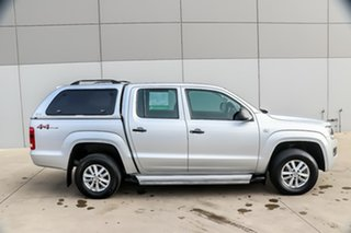 2015 Volkswagen Amarok 2H MY16 TDI420 4MOTION Perm Core Silver 8 Speed Automatic Utility